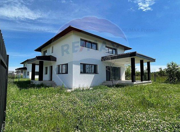 Casa / Vila Silistea Snagovului l FINISAJE LUX l 4 camere l langa LAC - imaginea 1