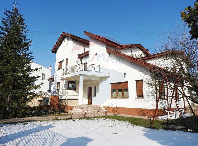 Vila exclusivista Iancu Nicolae | Garaj & Piscina | Teren 1400 mp - imaginea 1