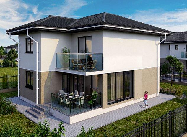 Casa de vânzare 4 camere - imaginea 1