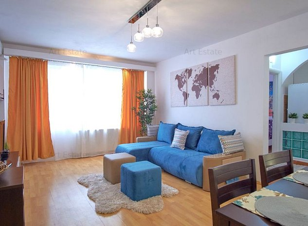 Apartament deosebit 3 camere Sala Palatului - imaginea 1
