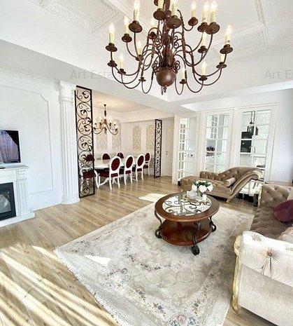 Penthouse Lux 5 Camere Parcul Carol Stil Baroc Comision 0% Cumparator - imaginea 1