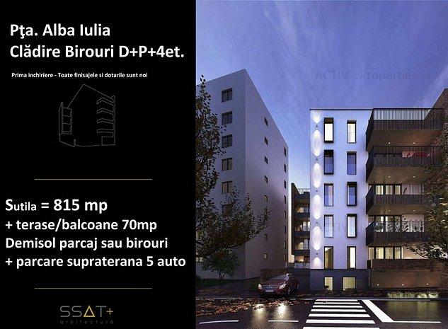 Inchiriez cladire noua de birouri rond Alba Iulia - imaginea 1