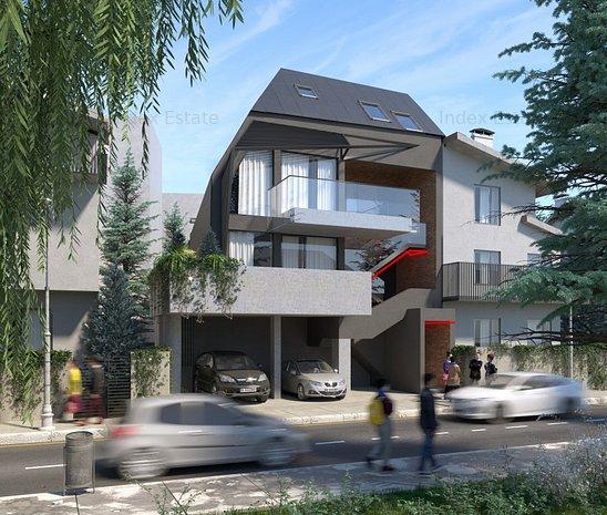 Apartament–loft cu terasa de 14 mp la 4 minute de Metrou Muncii! - imaginea 1