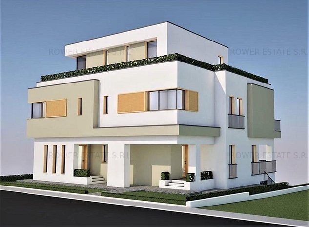 Casa Tip Duplex,176 mp, teren 250 mp,zona exclusivista! - imaginea 1