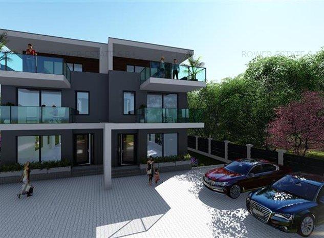 Casa de Vanzare Andrei Muresanu,design modern,180 mp utili+75 Mp Terase. - imaginea 1