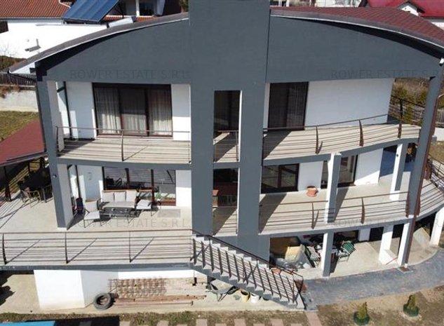 Casa individuala 418 mp utili, 2000 mp teren ,cartier Dambul Rotund! - imaginea 1