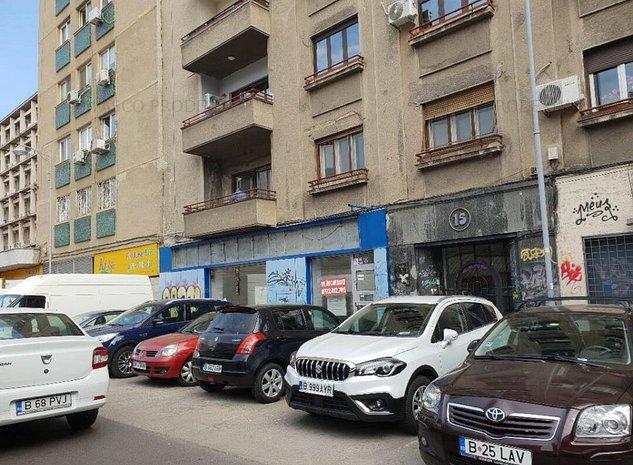 Spatiu comercial stradal P-ta Amzei - imaginea 1