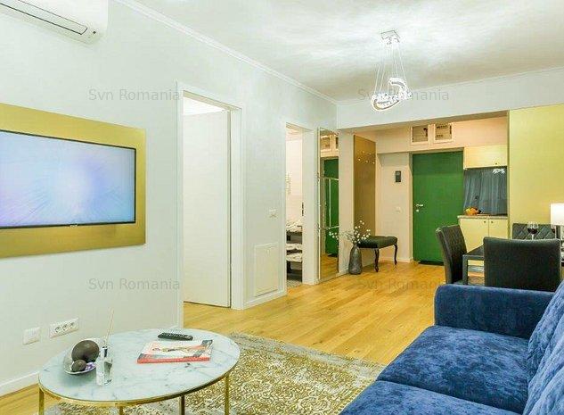 Apartament 2 camere mobilat si utilat Aviatiei complex nou - imaginea 1