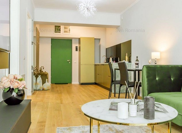 Inchiriere apartament modern Aviatiei complex rezidential - imaginea 1