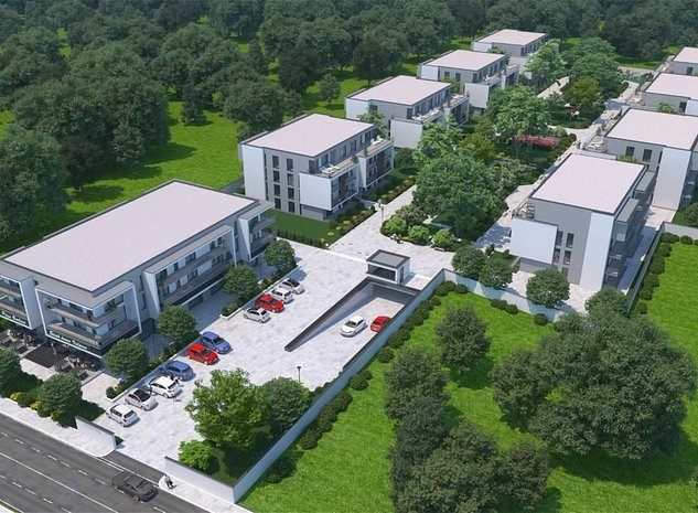 Apartament 4 camere in complex rezidential de lux pe Erou Iancu Nicolae - imaginea 1