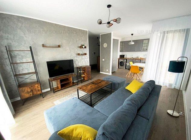 *NEW │ Desing modern │ 2 Camere   Cloud 9 Residence │Prima inchiriere - imaginea 1