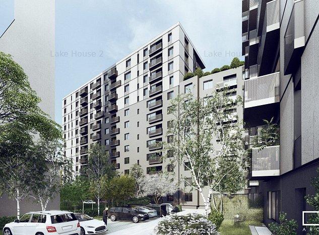 2 Camere Metrou - Lake House 2 - Regie Sema Park - Vedere Lacul Morii - imaginea 1
