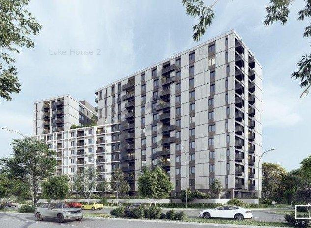 LAKE HOUSE 2 | 2 camere | Vedere Oras | Metrou P. POENARU - imaginea 1