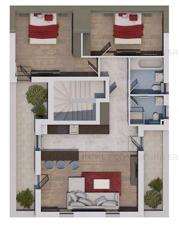 Apartament 3 camere in vila cu GARAJ - imaginea 1