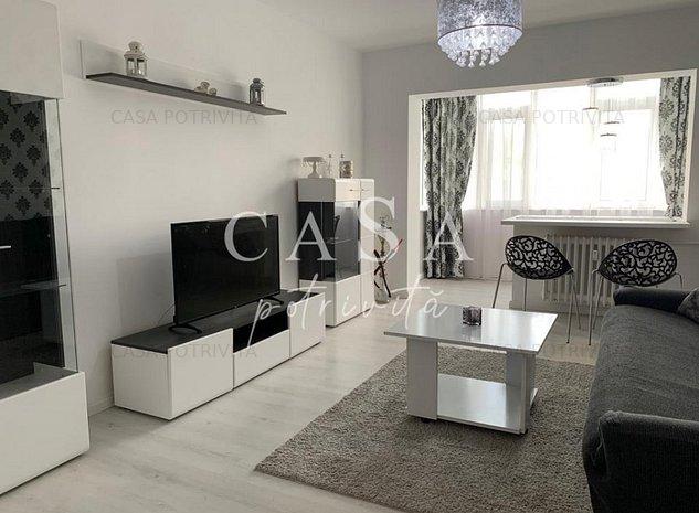 City-Al.Lapusneanu, apartament 2 camere, mobilat si utilat lux - imaginea 1
