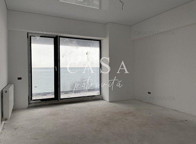 Statiunea Mamaia-zona Rex, apartament 2 camere decomandate, terasa spre lac - imaginea 1