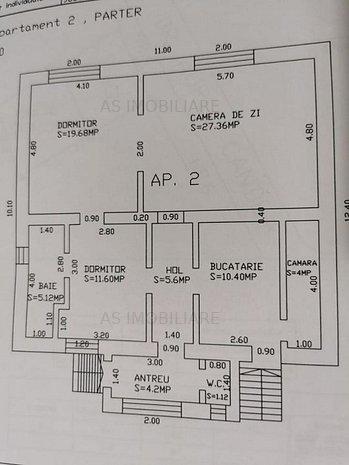 AS 87 CASA CU 7 CAMERE, TEREN 400 MP, ZONA UNIVERSITATII - imaginea 1