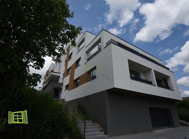 Apartament cu terasă de 100mp și vedere panoramică! Comision 0% la cumpărător! - imaginea 1