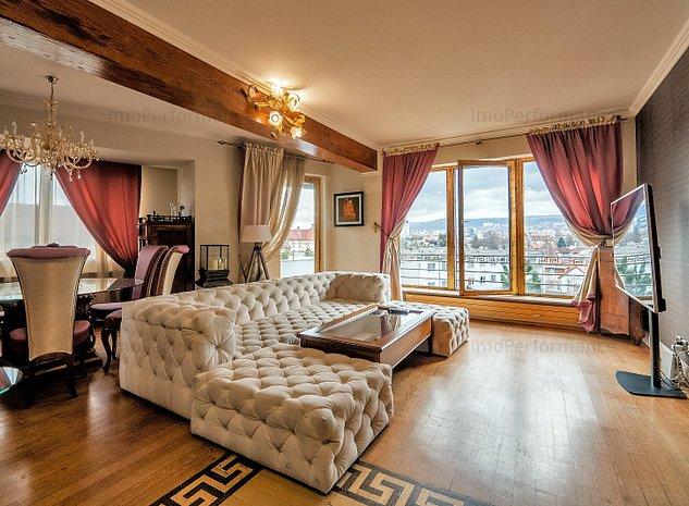 Apartament 3 camere, LUX, zona Centrala, Panorama superba - imaginea 1