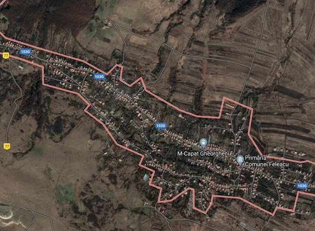 Casa individuala 60 mp, teren 1700 mp, sat Gheorgheni - imaginea 1