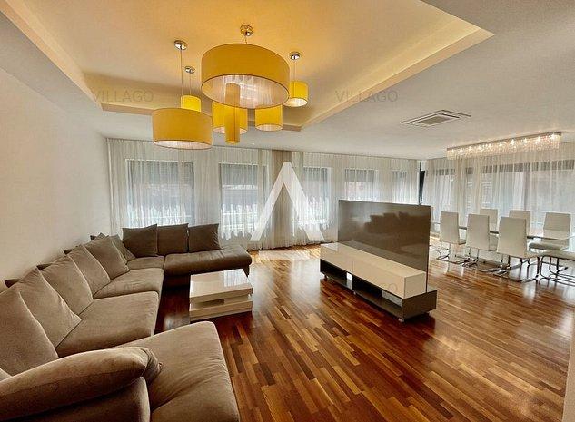 Kiseleff Apartament 5 camere LUX - imaginea 1