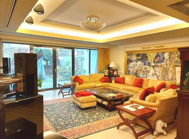 Apartament exclusivist cu 5 camere de vanzare, 603mp construiti, zona Herastrau - imaginea 1