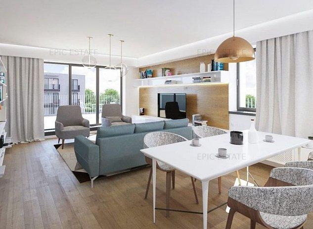 Apartament cu 3 camere de vanzare, 94 mp construiti, zona Polona - imaginea 1