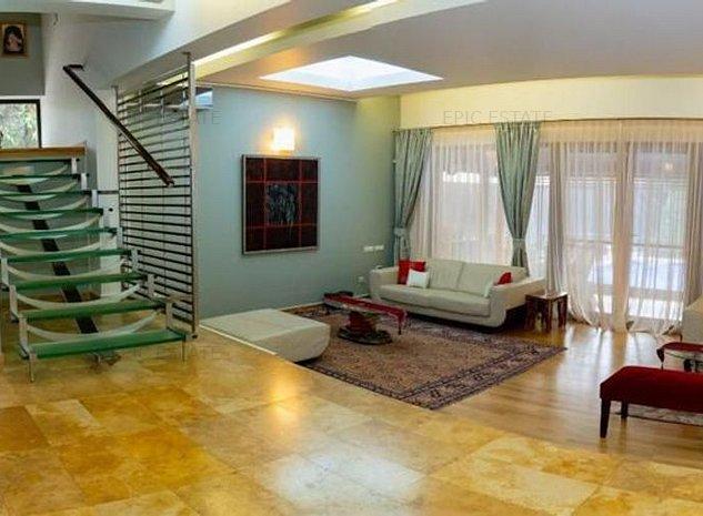 Vila speciala de vanzare, cu piscina, 410mp construiti, zona Pipera - imaginea 1