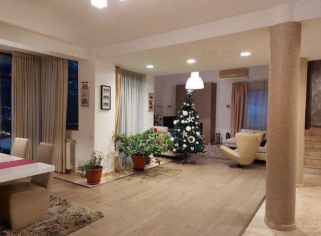 Vila speciala cu 7 camere de vanzare, 420mp construiti, zona Baneasa- Pipera - imaginea 1