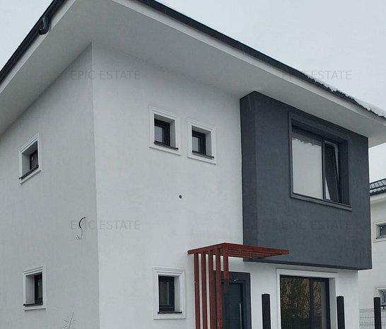 Vila cu 4 camere de vanzare, 140mp construiti, Otopeni-zona noua - imaginea 1