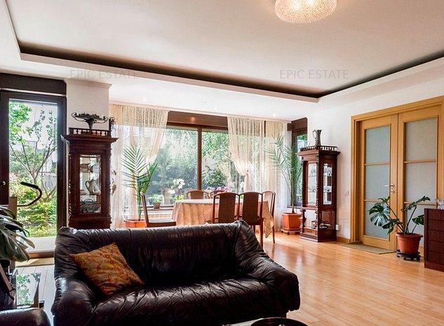 Vila cu 5 camere de vanzare, 270 mp construiti, zona Baneasa- Gradina Zoologica - imaginea 1