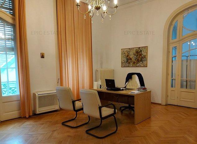 Vila speciala de inchiriat, 16 camere, 828mp utili, zona Gradina Icoanei - imaginea 1