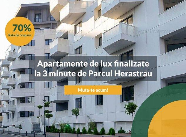 Herastrau Parkview | Apartament 2 camere | Lux | 3 min de Parcul Herastrau - imaginea 1