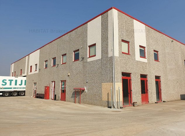2000 - 16000 mp depozitare in hale noi, beton, parc logistic DLP - Chitila - imaginea 1