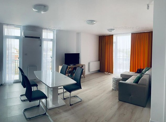 Apartament de inchiriat la City Of Mara, de lux, 3 camere, 450 EUR - imaginea 1