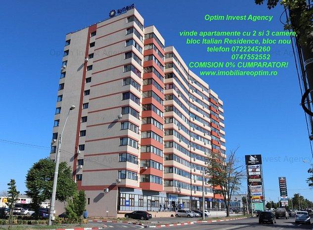 Apartamente 2 si 3 camere - bloc nou, Italian Residence - imaginea 1