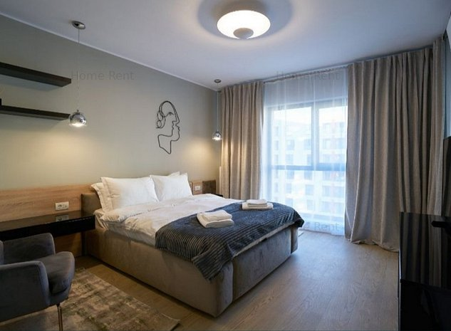 Garsoniera Lux|Plaza Residence|5 minute metrou|Parcare - imaginea 1