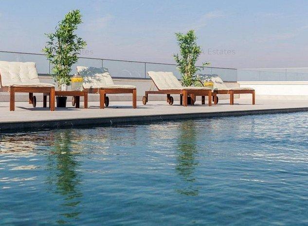 Apartament cu 3 camere, complex Trastevere, cu piscina exterioara si gym - imaginea 1