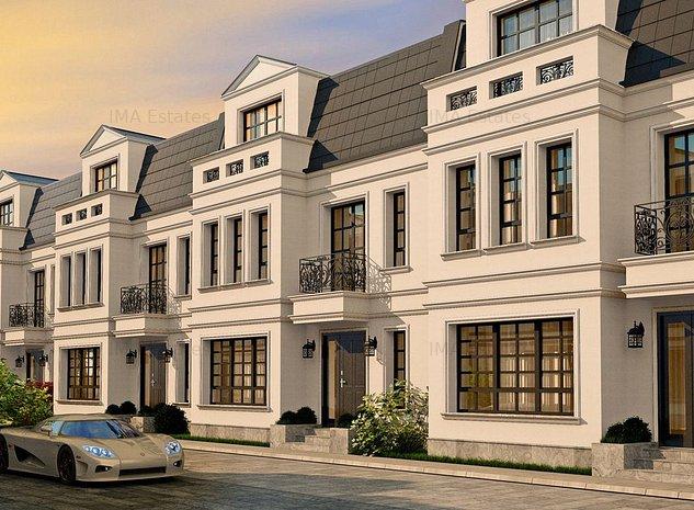 Vila construita in stil britanic, zona Erou Iancu Nicolae, complex exclusivit - imaginea 1
