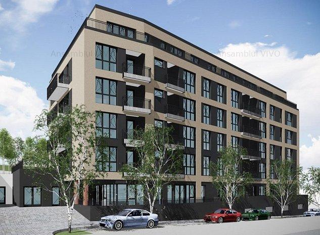 Apartament 2 camere bloc nou,str Razoare zona Vivo - imaginea 1