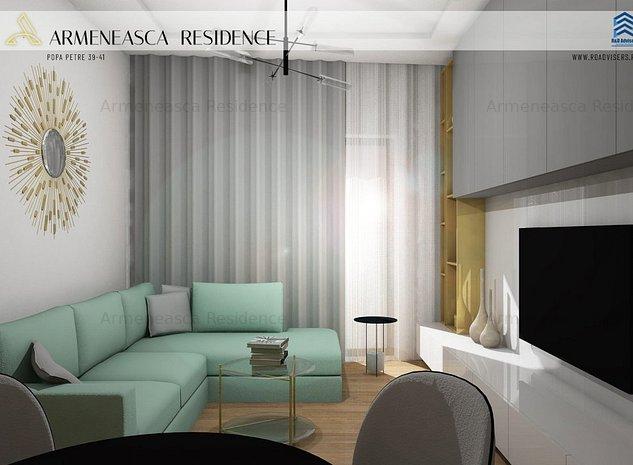 Apartament 2 Camere Terasa 21 mp Fatada Ventilata - imaginea 1