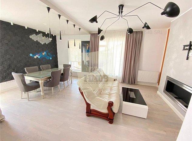 Penthouse de lux cu 3 camere 2 bai si 3 terase in zona Calea Cisnadiei - imaginea 1
