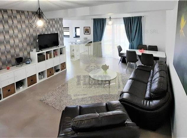 Casa mobilata lux cu 4 camere terasa si 2 parcari in zona Triajului de vanzare - imaginea 1