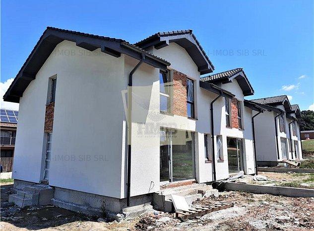 Casa cu 4 camere 2 bai si 300 mp teren de vanzare in Cisnadie - imaginea 1