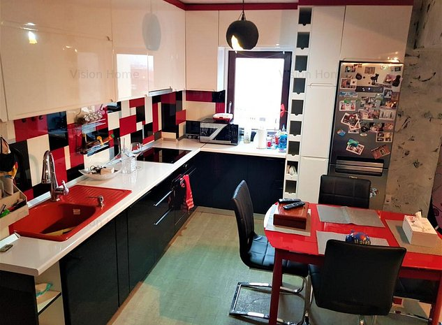 Apartament 2 camere decomandate incalzire in pardoseala zona Mihai Viteazu - imaginea 1