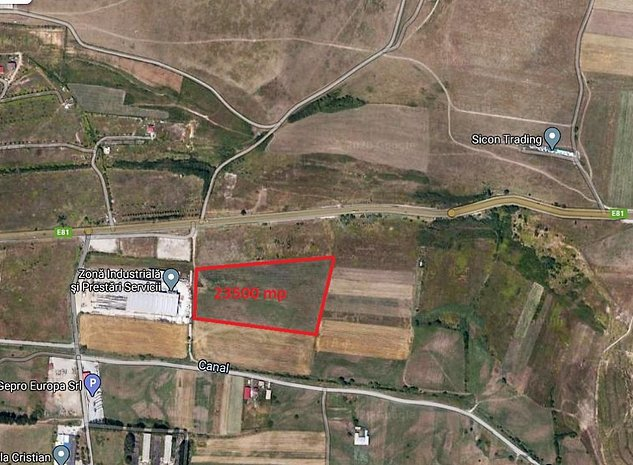 Teren industrial 23500 mp in Cristian Sibiu - imaginea 1