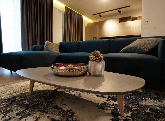 Apartament lux cu gradina in complex premium, paza 24h, parcare subterana - imaginea 1