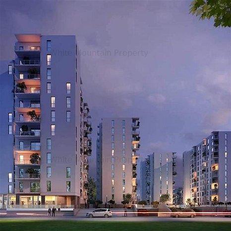 Apartament 2 camere, nou, inchiriere lunga durata, Citta Residential Park - imaginea 1