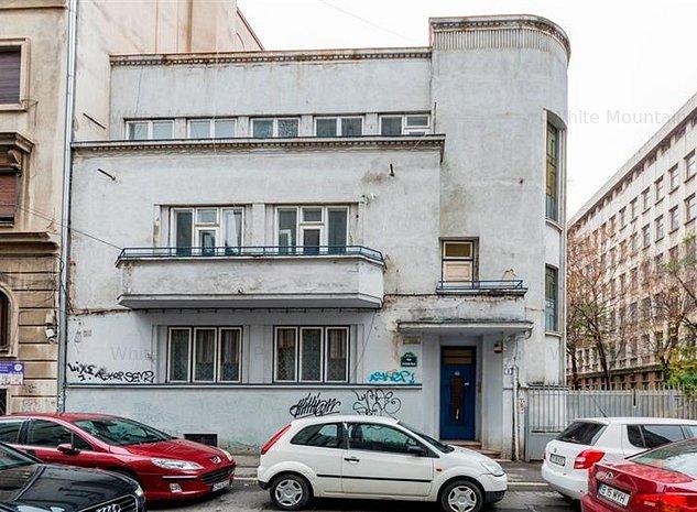 Vanzare vila Art Nouveau, 15 camere, ASE - Piata Romana - Dorobanti - imaginea 1