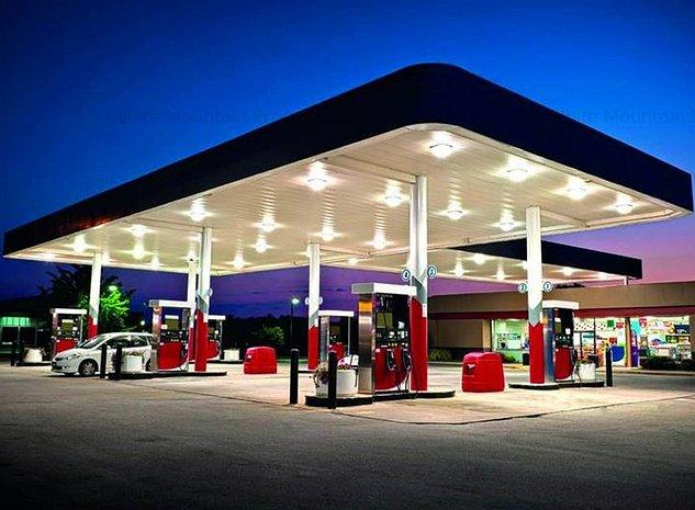 Statie de benzina pe parcela de 30.000 mp, contract pe 20 de ani, 11% ROI, Pites - imaginea 1